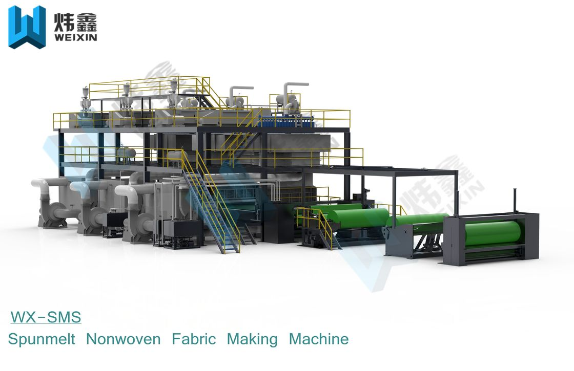 Full Automatic Spunmelt PP Non Woven Fabric Machine For Shopping Bag