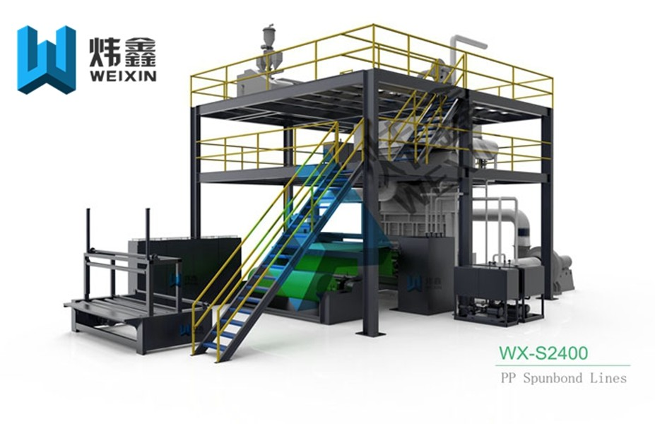 PP Non Woven Fabric Making Machine Nonwoven Production Line